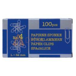Sponke za papir Niko, 32mm, 100/1