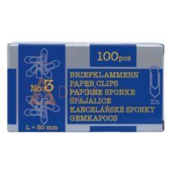 Sponke za papir Niko, 30mm, 100/1