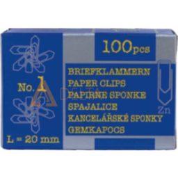 Sponke za papir Niko, 20mm, 100/1