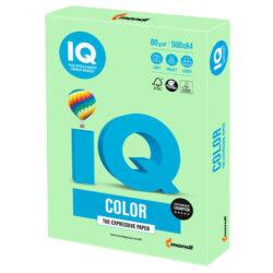 Zelo kvaliteten pisarniški papir za vsakodnevno uporabo je primeren za vse vrste kopirnih strojev, laserske in ink jet tiskalnike. Barva: srednje ZELENA, MG-28 Gramatura: 80g