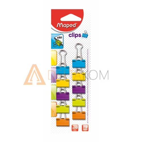 Sponke za papir Maped binder 19mm