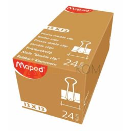 Sponke za papir Maped Binder 24mm 12/1