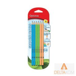 Grafitni svinčniki OPTIMA 6 kosov