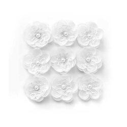 Rože Magnolija iz tkanine